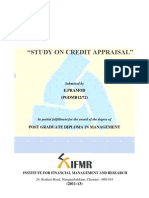 Project Report-study on Credit Appraisal (2)