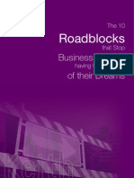 The 10 Roadblocks for Business Owners