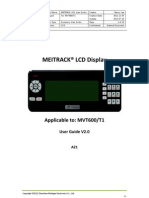 MEITRACK A21 LCD Display User Guide V2.0