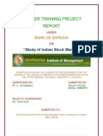 Study of Indian Stock Market