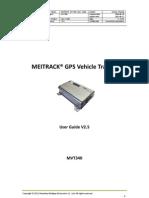 MEITRACK MVT340 User Guide V2.5
