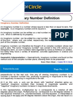 Imaginary Number Definition