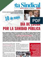 Gaceta Sindical Sanidad 10.05.2012