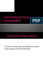 Gastrointestinal Assessment