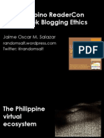 Book Blogging Ethics