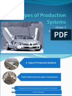 Group 3 Production Types