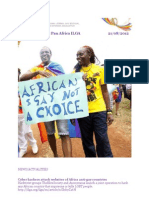 Pan Africa ILGA News Letter -Aug 21