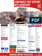 Boycott Leaflet to Save Gaza