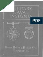 1928 Naval Military Insignia Catalog