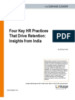 Michael Haid Four Key HR Practices That Drive Retention
