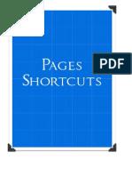 Pages Shortcuts Cheatsheet