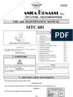 User's Manual GB MTC601 10-04 GB