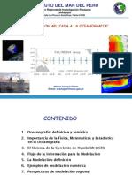 La Modelación Aplicada a la Oceanografia