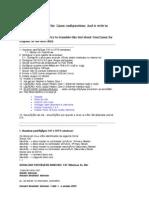 Linux configurations