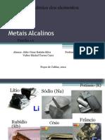Metais Alcalinos - Completo 3