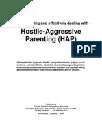 Hostile Agressive Parenting