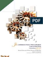 3rd Caribbean Public Procurement (Law & Practice) Conference (CPPC) 2012 Brochure