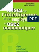 Sez Sur Lintelligence - Nouvellebiblio.com