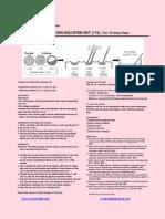 Cryotech 110 Vitri Sol Protocol