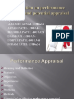 Presentation on performance appraisal
