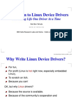 82671064 Intro Linux Device Drivers