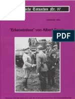 Historische Tatsachen - Nr. 87 - Siegfried Egel - Erkenntnisse Von Albert Speer (2003, 40 S., Scan)