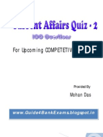 Current Affairs Quiz 2 - Guide4BankExams