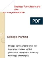Corporate Strategy Formulation and Implementation