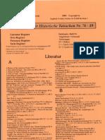 Historische Tatsachen - Nr. 89a - Siegfried Verbeke - Registerheft Fuer Historische Tatsachen Nr. 76-89 (2004, 40 S., Scan)