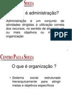 Fund. administração