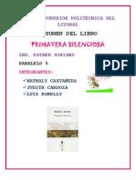 Resumen Del Libro-Primavera Silenciosa