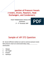 API 572 Practise Question