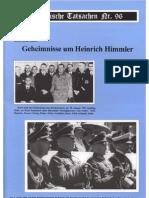 Historische Tatsachen - Nr. 96 - Siegfried Egel - Geheimnisse Um Heinrich Himmler (2005, 40 S., Scan)