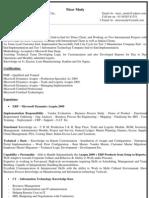 Copy of Updated Resume - Nirav