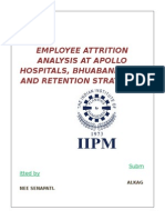 Atrition Analysis at Apolo Hospital