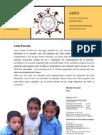 ADEG – Projektbericht, 2012