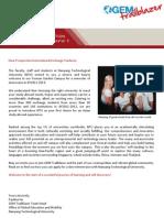 NTU GEM Trailblazer Info Sheet AY2012-2013_S2 (17 Aug)