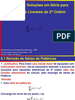 Soluções em Séries para Eq Dif de 2a Ordem