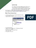 Jmeter Proxy Step by Step