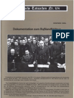 Historische Tatsachen - Nr. 104 - Siegfried Egel - Dokumentation Zum Russlandfeldzug (2008, 44 S., Bild)