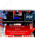 Systems Thinkin