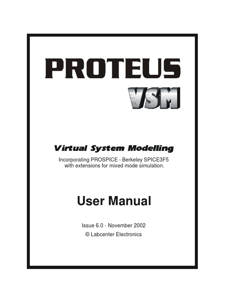 Proteus Vsm Manual Simulation Spice Can You Tell Me About This Circuit Elements39 Name More Specifically