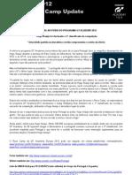 Comunicado de imprensa | GT Academy'2012