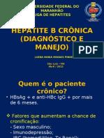 Aula Liga de Hepatites - HBV Cronica