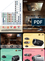 Handycam Brochure 2012
