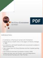 The Cola Conundrum