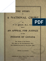 Report by Dr Peter Bryce in 1922 Indian Resindentia Schools in Canada