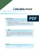 5. Tradisi Lokal, Hindu,Budha Dan Islam