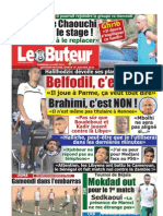 LE BUTEUR PDF du 26/08/2012