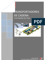 Cuestionario Transportadores de Cadena